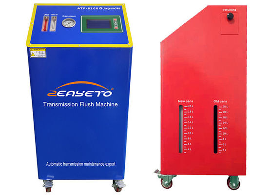 Atf Oil Change Machine Exchange In A Short Time 150W Power Red Blue Color
