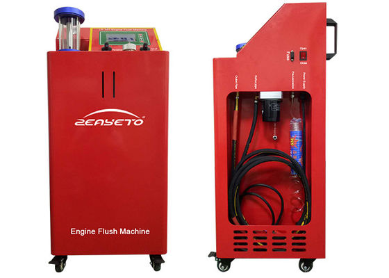 Petrol Engine Flush Machine Oil Cleaner For Car Center 430*400*1000mm