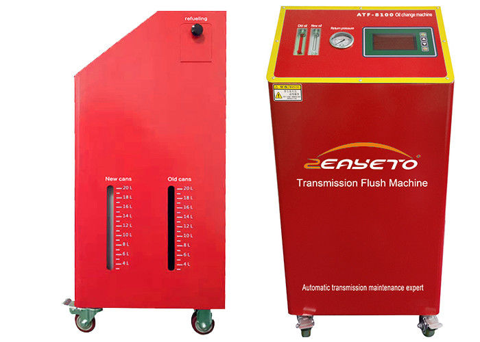 Synthetic Auto Trans Flush Machine / Gasoline Vehicles Atf Changer Machine supplier