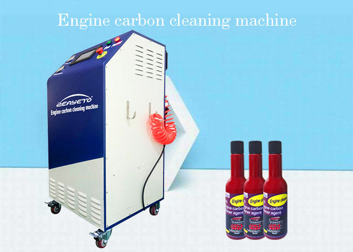 Air Pollution Reduced Carbon Remover For Cars Browns Gas HHO Carbon Cleaner Included supplier